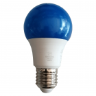 لامپ LED پارس لوکس 7 وات حبابی رنگ آبی