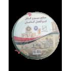 سیم افشان 2.5 ابوالفضل کاشان رنگ سبز حلقه 100 متری