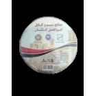 سیم افشان 1.5 ابوالفضل کاشان رنگ مشکی حلقه 100 متری