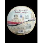 سیم افشان 1.5 ابوالفضل کاشان رنگ زردحلقه 100 متری